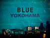 BLUE (Masahiko Kuroki (a.k.a miyabean)) Tags: color wall blue yokohama xe2 lensbaby trio28 横浜