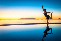 Another amazing sunrise in San Carlos filled with yoga.