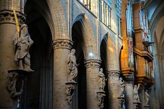 Cathédrale des Saints Michel et Gudule (dprezat) Tags: bruxelles belgique belgium treurenberg cathédrale saintmichel saintgudule gothique religion nikond800 nikon d800