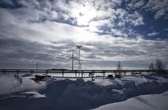 ... Diverged paths ... (Device66.) Tags: deviceinfinland yeahh nieve hielo experience aventura prueba investiga aloneinthesnow kemi sampo theoldicebreaker
