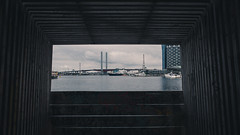 View from Docklands (SonnySixteen) Tags: water waterfront boats indoor outdoor daylight docklands colour color