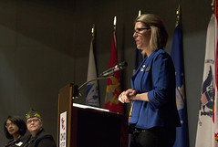Celebration of Women's History Month Panel Discussion - 03/29/18 (Ohio Department of Veterans Services) Tags: ohio dept department vet vets veterans veteran services service woman women military armed forces womens history month 2018 center moderator claudia foss jasmin hurley kari pfeiffer