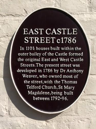 East Castle Street c1786