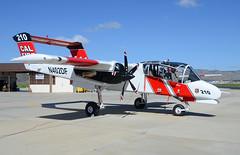 OV-10 N402DF (John W Olafson) Tags: n402df calfire hmt hemet northamericanov10abronco birddog firefighting garrett