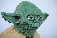 Yoda (Felix Jaensch) Tags: yoda sculpture lego star wars starwars character creature