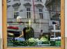 vegan kitchen (heinzkren) Tags: wien vienna window gemüse vegetables spiegelung reflection city innenstadt koch colors farben cook canon powershot street streetphotography candid architektur architecture spiegelbild mirror