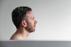 Peter W. 2018 # 13 (just.Luc) Tags: man male homme hombre uomo mann profile profiel portret portrait ritratto retrato porträt gay face gezicht visage gesicht baard barbe barba bart beard belgië belgien belgique belgica belgium