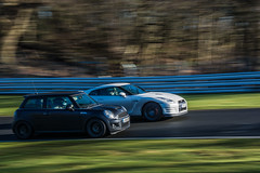 (Rutherford-Photography) Tags: gtr japspeed minicooper motorsport nissan oultonpark trackday