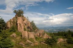 2009-07-25 Hill Pramenáč (beranekp) Tags: czech krušné hory erzgebirge pramenáč češké středohoří landscape landschaft