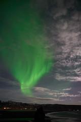 Kirkjufjara_aurora_L1090455 (nocklebeast) Tags: auroraborealis iceland kirkjufjarabeach nrd aurora stars ocean beach vik southcoast