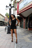 Edna in Ybor (California Will) Tags: edna beauty beach model sexy blackdress legs sheer ybor tampa florida