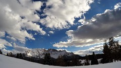 Latemar - Rosengarten (RossoGialloBianco) Tags: rosengarten latemar ega dolomiti dolomites heinzen snow winter sky clouds timelapse gopro