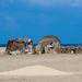 A somali hut called aqal o the seaside, Awdal region, Lughaya, Somaliland