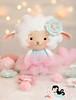 ✿ Essa ovelhinha quer ser uma bailarina ✿ (Ei menina! - Érica Catarina) Tags: ovelhinha ovelha carneirinho feltro feitoàmão enfeites bailarina