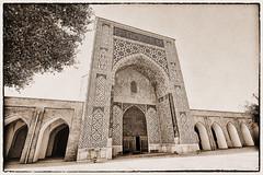 Shahrisabz UZ - Kok-Gumbaz mosque 06 (Daniel Mennerich) Tags: silk road uzbekistan history hdr shakhrisabz qashqadaryo kokgumbaz mosque