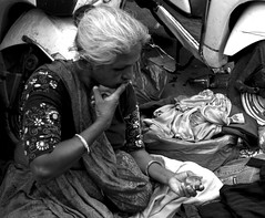 Dental care (magiceye) Tags: dental care tooth powder fleamarket street streetportrait streetphoto mumbai india monochrome blackandwhite bnw
