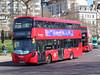 Arriva London North  . HV280 LK17LKJ . Hyde Pard Corner , London . Wednesday 18th-April-2018 . (AndrewHA's) Tags: bus hydeparkcorner arriva london volvo b5lh hybrid wrightbus gemin 3 tfl route 19 short working sloane square battersea bridge