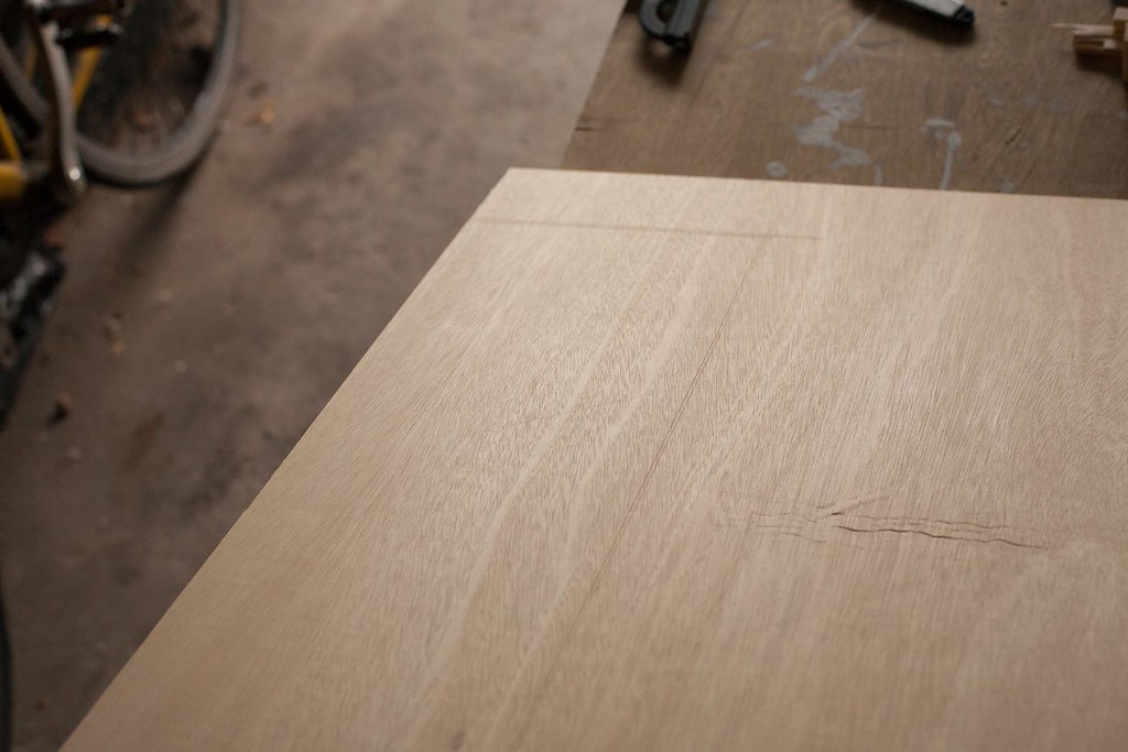 how to avoid tearout when cutting plywood