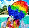 (ryanjasterina) Tags: makeup hair salon wig wigs customwigs dragqueen drag rupaulsdragrace cosplay unicorn vintage retro pinup pinupgirl rainbow greenhair art fashion style glamour bighair waves behindthechair imanartist colorful hollywood asteryna アステライナ