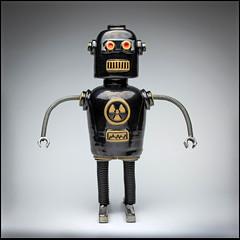 Nuclear Powered Bender Robot (Rodrick Dale) Tags: robot nuclear ceramic metal metallic radioactive