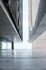 up (c)ariane coerper (Stadtromantikerin) Tags: colour perspective abstract fujixphotographer fujifilm reflection concrete modern urban architecture berlin