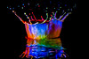 WaterArt (Photography By Mallik) Tags: waterdrops color crown dripart dropart drops splash waterart abstract