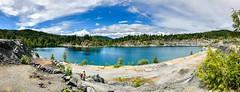 Shawnigan Lake Rock Quarry (Per@vicbcca) Tags: canada landscape britishcolumbia iphone8 iphone8plus shawniganlakerockquarryakakingzettlake| quarry shawniganlake vancouverisland