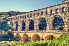 Pont du Gard. Vers-Pont-du-Gard, France (mtm2935) Tags: exquisite beautiful jewel marvel engineeringmarvel engineering magnificent histórico historic romano acueducto antiguo antique france romanaqueduct roman aqueduct puente bridge