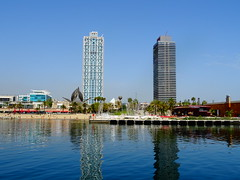 """Summer day in Barcelona"" (toni.perezpadilla) Tags: mar torre maphre hotel arts"