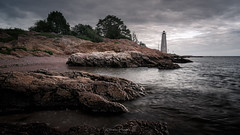 Vigilance (Simmie | Reagor - Simmulated.com) Tags: 2018 connecticut connecticutphotographer fivemilepointlight june landscape landscapephotography lighthousepointpark lighthouse nature naturephotography newengland newhaven outdoors park spring sunset unitedstates beach ctvisit digital wwwsimmulatedcom
