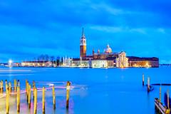 another Venice evening classic (Tschissl) Tags: venezia kirche abendstimmung architektur landschaft wasser italia longexposure meer