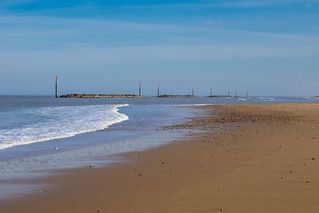 A quiet day at Palling in Norfolk
