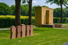 Fricourt German Cemetery (Andrew at Trawden) Tags: france fricourtgermancemetery cemetery maltesecross monument tree fricourt hautsdefrance fr