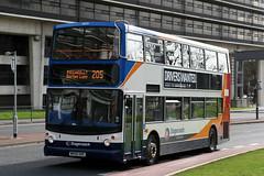 18375 MX55 KRE 205 (Cumberland Patriot) Tags: stagecoach north west england manchester adl alexander dennis trident alx 400 alx400 18375 mx55kre