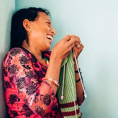 Photo of the Day (Peace Gospel) Tags: girls women trafficking survivors rescued restoration rehabilitation smiles smiling smile happy happiness joy joyful peace peaceful hope hopeful thankful grateful gratitude knitting handcrafting making creating handmade empowerment
