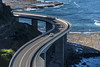 sea cliff bridge (Greg Rohan) Tags: seaside blue green shadow australia nsw seacliffbridge truck car cliff rock water ocean sea bridge coast coastal southcoast d750 2018 nikkor nikon