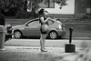stylin' (photoluver1) Tags: car street lady woman girls dress skirt gown pretty blackandwhite monochrome heels fashion gorgeous streetshot city citylife urban urbanlife