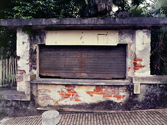 No Service (Mikael Langer) Tags: 120 6x45 agfaportraitxps160 analog c41 film mediumformat selfdeveloped