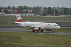 OE-LBQ - Airbus A320-214 (Digi-Joerg) Tags: internationalerverkehrsflughafen berlintegel txl austrian airbusa320 ersterflug15111999 heimatflughafenwien oe austria