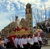 Domingo de Resurrección -Semana Santa Alameda(Málaga) (lameato feliz) Tags: alameda imagen semanasantaalameda procesión gente