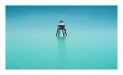 Flecto (SimonTHGolfer) Tags: landscape landscapephotography seascape sea water longexposure nature coast lighthouse blue turquoise aqua essex suffolk uk eastanglia eastcoast simontalbothurnphotography minimal minimalist minimalism