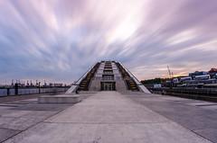 Dockland - Hamburg, Germany (pedrognecco) Tags: hamburg germany euro europe travel deutschland long exposure multiexposure nikon architecture sunset dusk