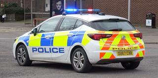 Bedfordshire Police - OU67 CXR