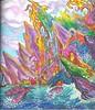 dragonstone (regina11163) Tags: dragonstone gameofthrones castle rainbows dragons waves clouds outdoor fineart coloringbook fantasy