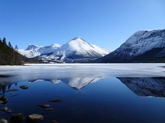 Reflections (Mrs.Snowman) Tags: åmdalen ørsta sunnmøre westernnorway easter