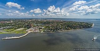 Charleston, South Carolina Aerial