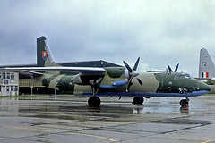 2506   Antonov An-26 [125-06] (Slovakian Air Force) RNAS Yeovilton~G @ 04/06/1994 (raybarber2) Tags: 12506 2506 approachtodo cn12506 egdy flickr johnbabbagecollection proptransport slide slovakianmilitary