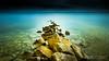 Path to Eternity (Olivier Galian Photography) Tags: blue breakwater digue etang eternity fineart france hérault march mer mèze méditerranée occitanie phoenician phéniciens rochers sea serenity thau