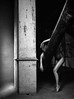 Urbex (isalouemy) Tags: photo nude woman blackandwhite portrait night studio exterieur noirblanc urbex street projection body photography corps portraits greens ville balade