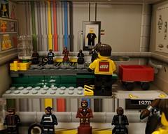 LEGO Factory (Marvel division) (Letgoofmylego) Tags: captainamerica steverogers ironman tonystark hawkeye clintbarton nickfurysr nicholasfury nickfuryjr marvel comics legofactory movies minifigures migifig nanofig